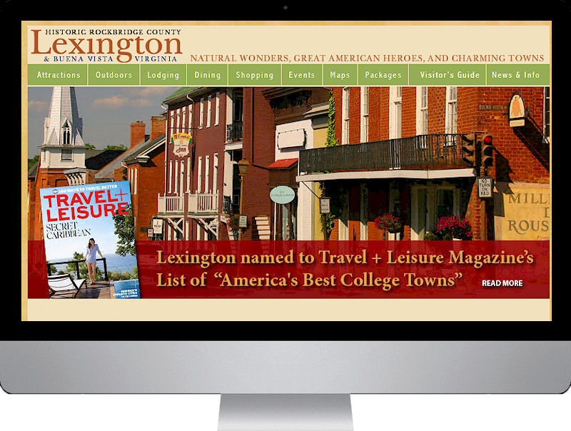 destination marketing websites