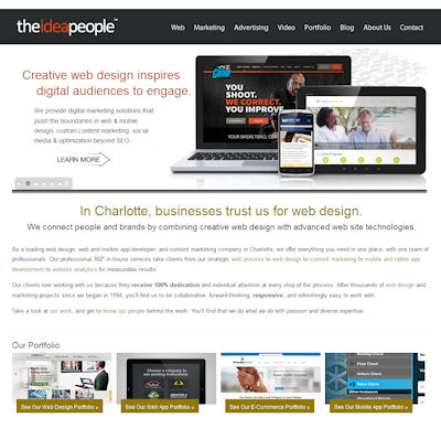 The Idea People | Charlotte Web Design Companies Review