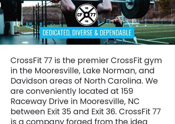 CrossFit 77_Mobile