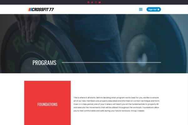 CrossFit 77_Programs